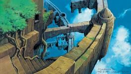 数々の名作アニメーション映画を彩る圧巻の背景原画