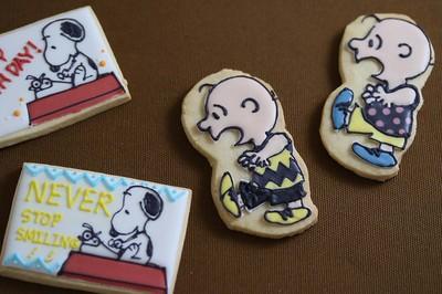 スヌーピーとチャーリー・ブラウンのアイシングクッキーを作ろう!