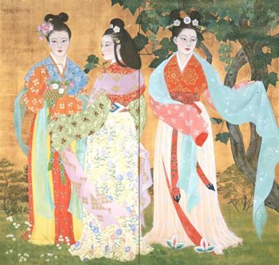 奈良県立万葉文化館所蔵 ~令和を想う~ 現代日本画家が描く 万葉の ...