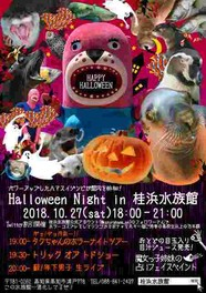 Halloween Night in 桂浜水族館