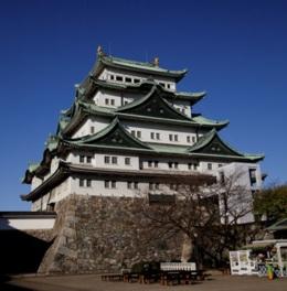 天守閣展望室からは名古屋市内を一望できる