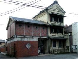 1920(大正9)年築の建物は国の登録有形文化財