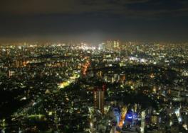 SKY CIRCUSサンシャイン60展望台からの夜景
