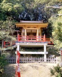 歓喜神社は1300年以上前のものだといわれている