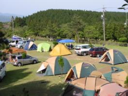 青山高原保健休養地キャンプ場