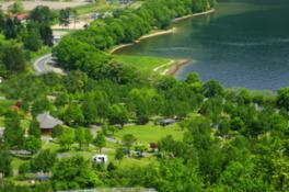 洞爺湖畔でゆったりキャンプ