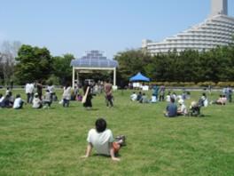 都立 潮風公園 バーベキュー広場