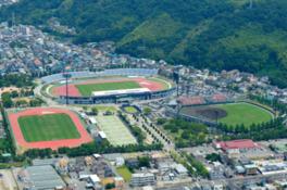 総合スポーツ施設として多くの大会が開催される