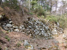 山王丸の大石垣は数少ない遺構の1つ