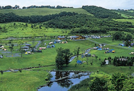 つるい村民の森オートキャンプ場