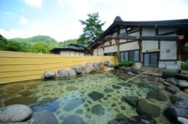 花巻温泉最大級の大きさを誇る大露天風呂