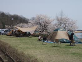 達居森と湖畔自然公園キャンプ場
