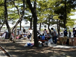 野島公園キャンプ場
