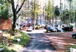 青木湖大向キャンプ場