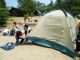 鳥取砂丘こどもの国キャンプ場