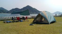休暇村大久野島キャンプ場