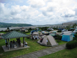 伊上海浜公園オートキャンプ場