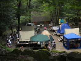 成川渓谷キャンプ場