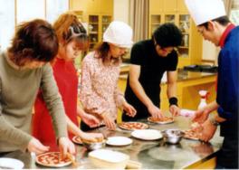 ピザ作り教室