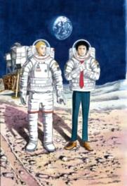 原画約200点を展示!人気コミック「宇宙兄弟」の魅力に迫る初の大規模展示会