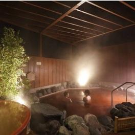 成田空港周辺では珍しい温泉を露天風呂で楽しめる