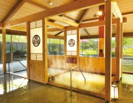 湯巡り温泉は2週間ごとに泉質が変わる