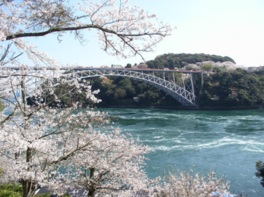 西海橋春のうず潮祭り