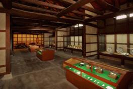 展示物だけでなく蔵の雰囲気が残る館内も興味深い