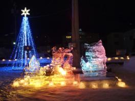 第11回 光と氷のオブジェ