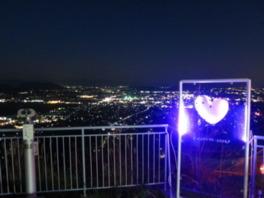 びわ湖灯り絵巻 絶景!八幡ドルの夜景と八幡山ライトアップ ~Loveパワースポット・恋人の聖地~