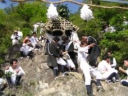 伊庭の坂下し祭