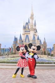 ミッキーマウスたちと夢のような時間を満喫