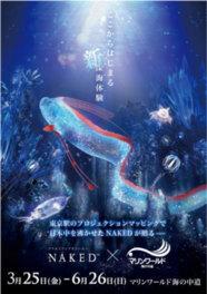 九州初の水族館とプロジェクションマッピングのコラボレーション