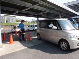JAF滋賀支部 女性のための車庫入れ教室