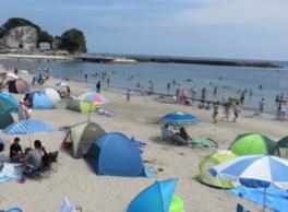 【海水浴】興津海水浴場