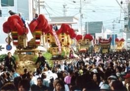伊予三島秋祭り