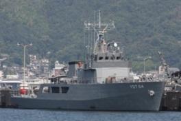 海上自衛隊 水中処分母船YDT 05一般公開
