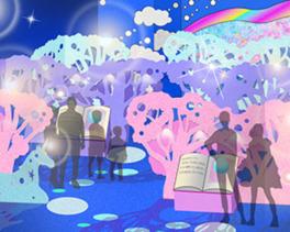 KAWAII 不思議 AQUARIUM ~ピンクの森と青い海~