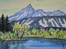坂本直行絵画展 山と風景2