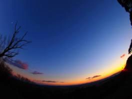夕暮れ時から夜を楽しむ トワイライトふたご座流星群トレッキング