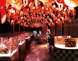 金魚づくしの夏イベント「お江戸の金魚ワンダーランド」