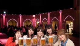 世界のビール祭りと肉バル