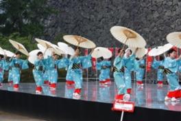 特設ステージではさまざまな踊りが展開