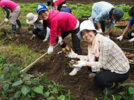 家族や仲間と農業体験・田舎暮らし体験・自然遊び!