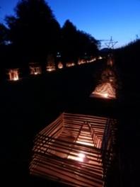 第10回西の湖ヨシ灯り展