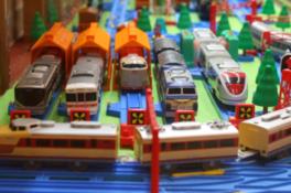 おもちゃ鉄道模型展