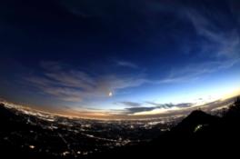 筑波山ロープウェイ スターダストクルージング 夜の空中散歩