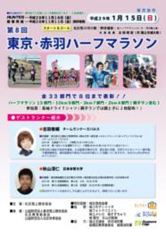 第8回 東京・赤羽ハーフマラソン