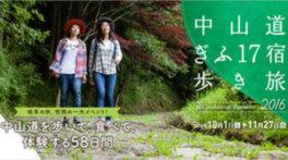 中山道ぎふ17宿歩き旅2016