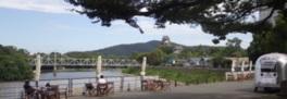 烏城公園オープンカフェ社会実験「O///RIVER PROJECT」(オリバープロジェクト)